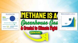 Methane is a Greenhouse Gas & Crucial Player in Climate Fight